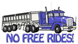 Free Rides embroidery design