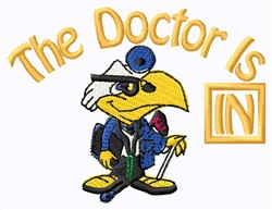 Docter In embroidery design