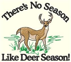 No Season embroidery design