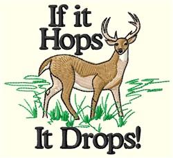 It Drops embroidery design
