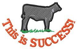 Success embroidery design