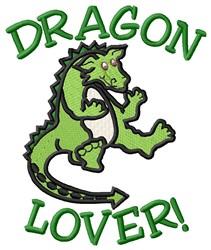 Dragon Lover embroidery design