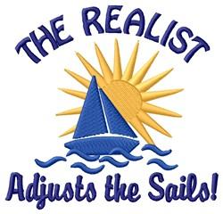Adjusts Sails embroidery design