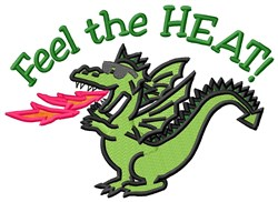 Heat Of Dragon embroidery design