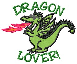 Lover Of Dragon embroidery design