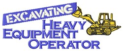 Heavy Crane embroidery design