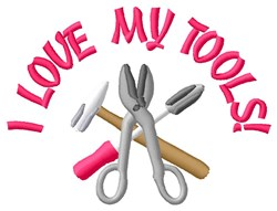 My Tools embroidery design