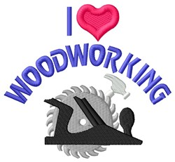 Wood Work Tools embroidery design