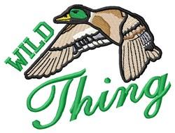 Wild Mallard Thing embroidery design