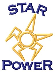 Star Power embroidery design