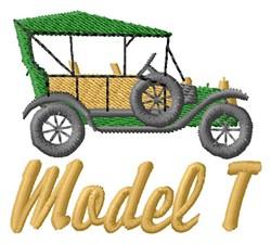 Model T embroidery design