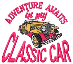 Classic Adventure embroidery design