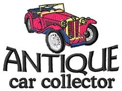 Car Collector embroidery design