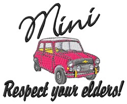 Mini Respect embroidery design