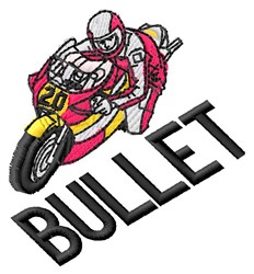 Bullet embroidery design