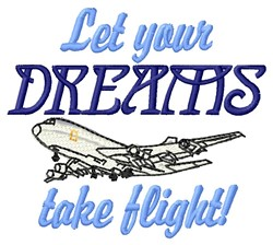 Your Dreams embroidery design