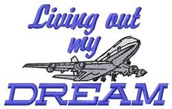 Living Dream embroidery design
