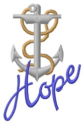 Hope embroidery design