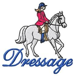 Dressage embroidery design
