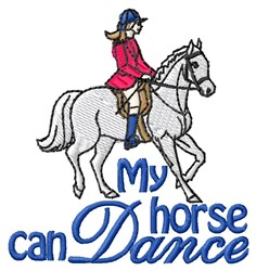 Horse Dance embroidery design