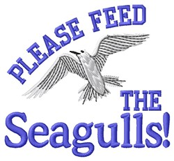 Feed Seagulls embroidery design