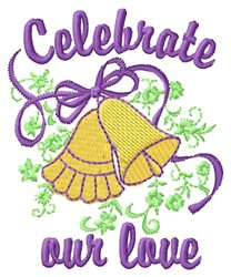 Celebrate Love embroidery design