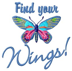 Find Wings embroidery design