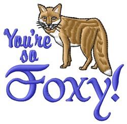 So Foxy embroidery design