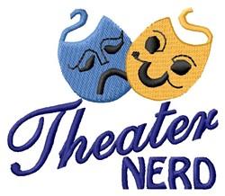Theater Nerd embroidery design