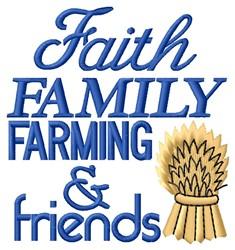 Farming & Friends embroidery design