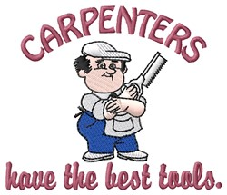 Carpenter Tools embroidery design
