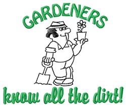 Gardeners Dirt embroidery design
