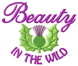 Beauty In Wild embroidery design