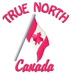 True North embroidery design