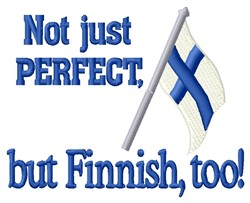 Perfect Finnish embroidery design