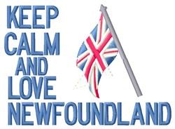 Love Newfoundland embroidery design