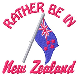 In New Zealand embroidery design