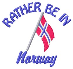 In Norway embroidery design