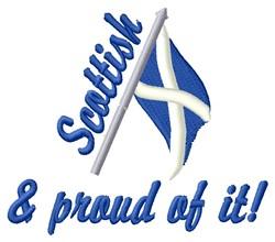 Scottish & Proud embroidery design