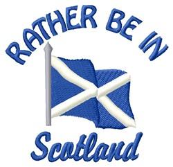 In Scotland embroidery design