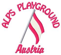 Alps Playground embroidery design