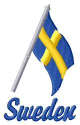 Sweden embroidery design