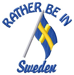 In Sweden embroidery design