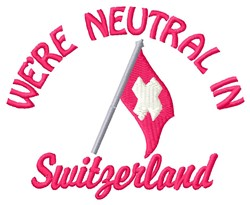 Neutral Switzerland embroidery design
