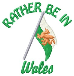 In Wales embroidery design