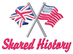 Shared History embroidery design