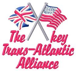 Key Alliance embroidery design