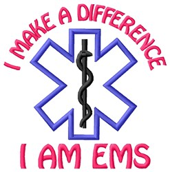 Make Difference embroidery design