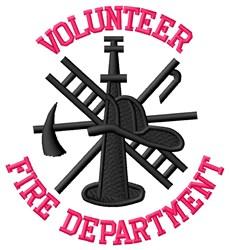 Fi e Volunteer embroidery design