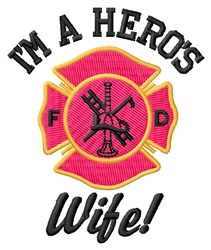 Heros Wife embroidery design